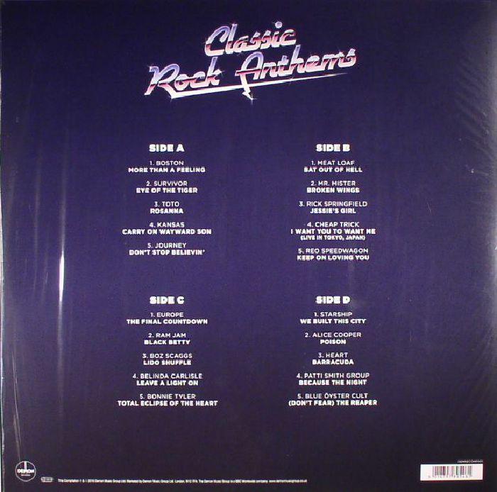 VARIOUS - Classic Rock Anthems