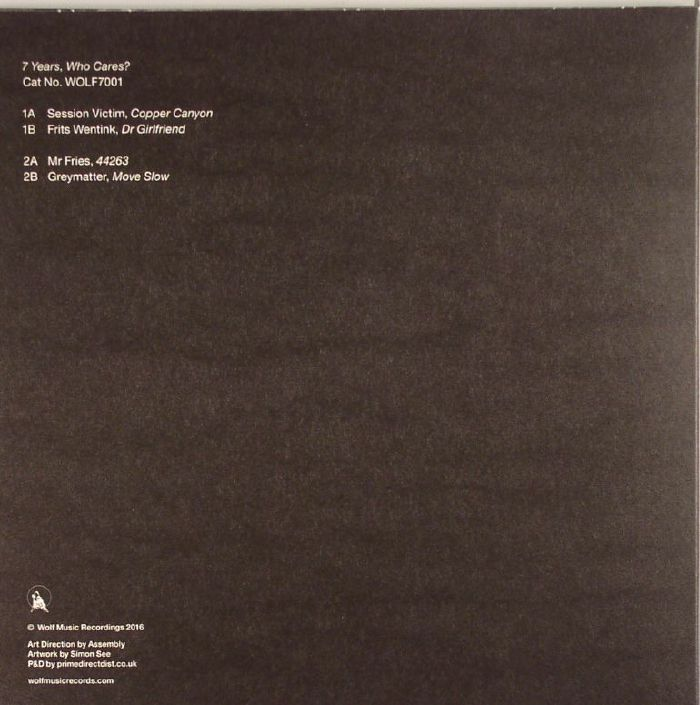 SESSION VICTIM/FRITS WENTINK/MR FRIES/GREYMATTER - 7 Years Who Cares?