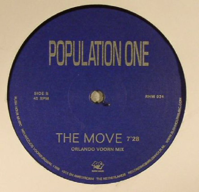 POPULATION ONE aka TERRENCE DIXON - The Move
