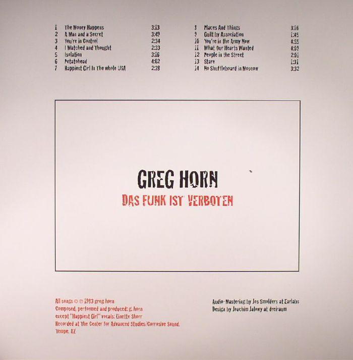 Was Ist Vinyl greg horn das funk ist verboten vinyl at juno records