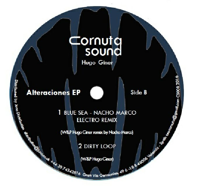 GINER, Hugo/W&P HGG - Alteraciones EP (feat Nacho Marco mix)