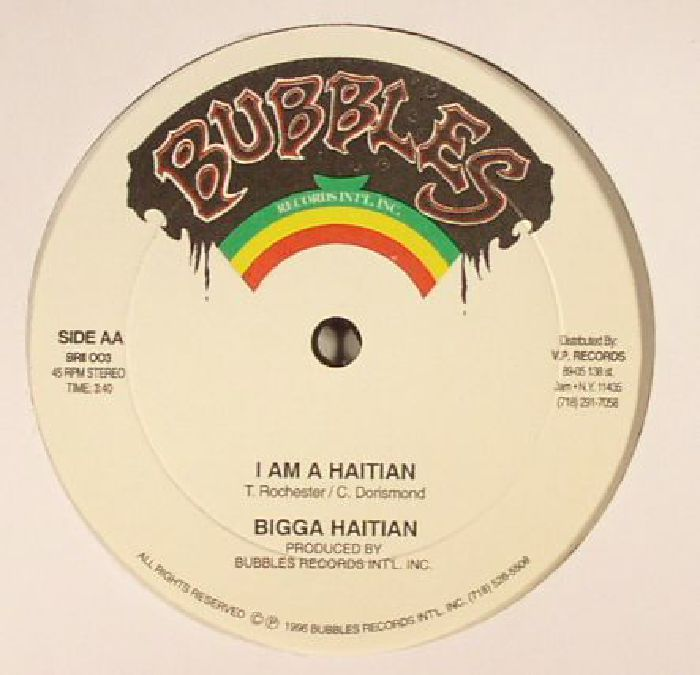 BIGGA HAITIAN - Imposter (warehouse find, slight sleeve ware)