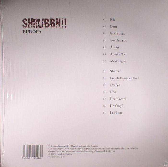 SHRUBBN - Europa