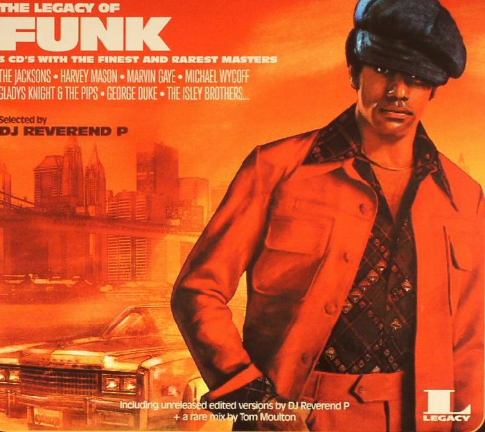 DJ REVEREND P/VARIOUS - The Legacy Of Funk: The Finest & Rarest Masters (B-STOCK)