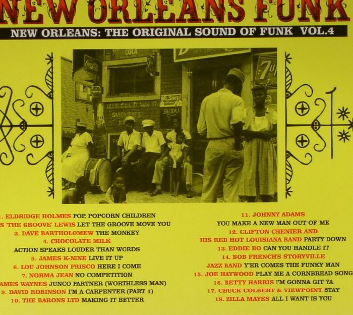 VARIOUS - New Orleans Funk Vol 4: Voodoo Fire In New Orleans 1951-77