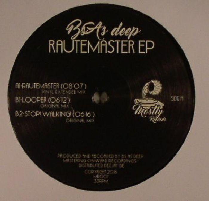 BS AS DEEP - Rautemaster EP