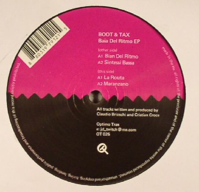 BOOT & TAX - Baia Del Ritmo EP