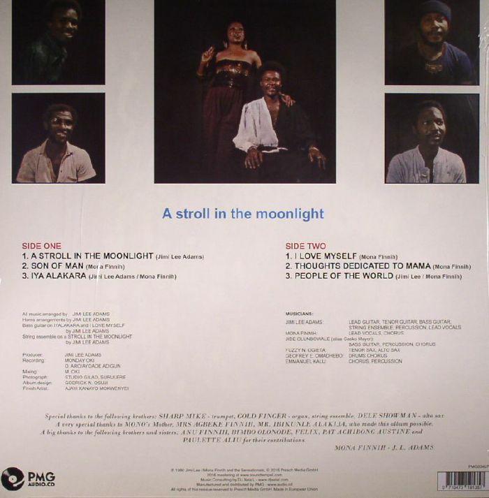 LEE, Jimi /MONA FINNIH/THE SENSATIONALS - A Stroll In The Moonlight (reissue)