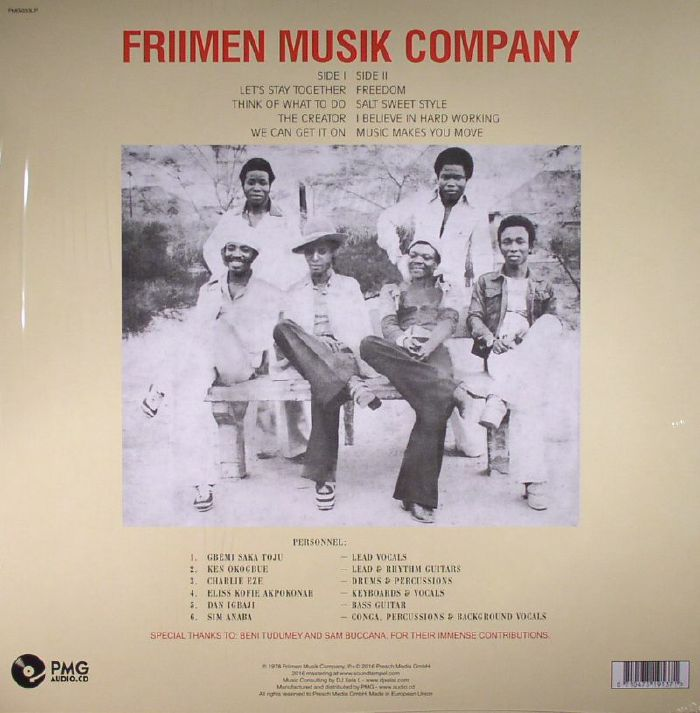 FRIIMEN MUSIK COMPANY - We Can Get It On (reissue)