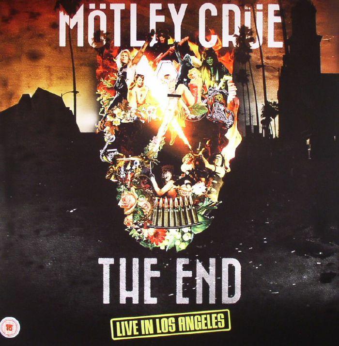 MOTLEY CRUE The End: Live In Los Angeles Vinyl At Juno