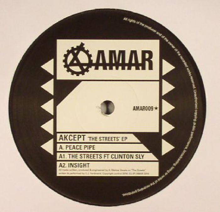 AKCEPT - The Streets EP