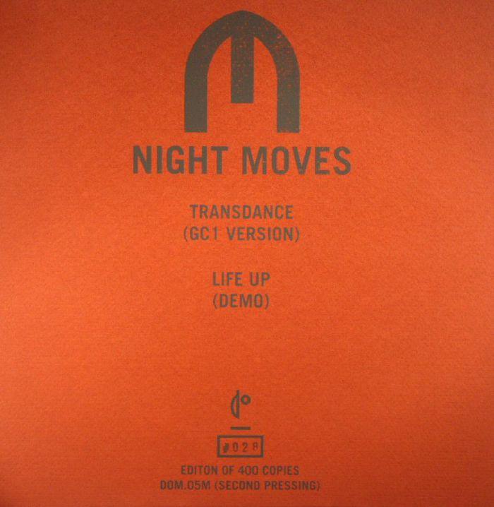 NIGHT MOVES - Transdance: GC1 Version (repress)