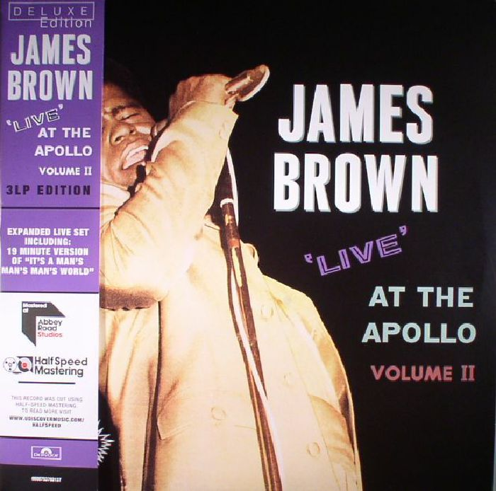 BROWN, James - Live At The Apollo Volume II (Deluxe Edition)  (half speed remastered)