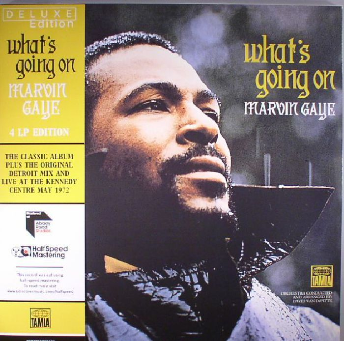 GAYE, Marvin - What's Going On: Deluxe Edition (half speed remastered)