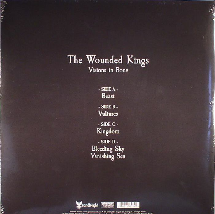 WOUNDED KINGS, The - Visions In Bone