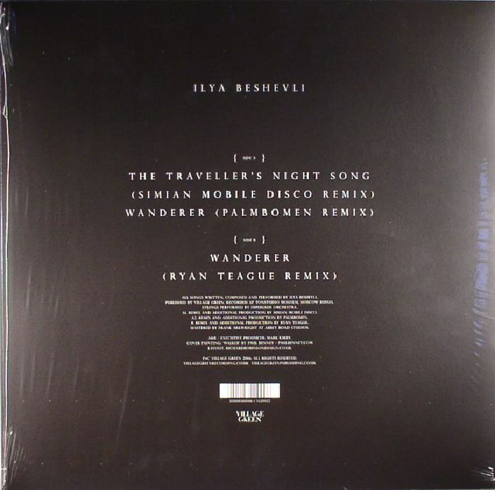 BESHEVLI, Ilya - Wanderer Remixes