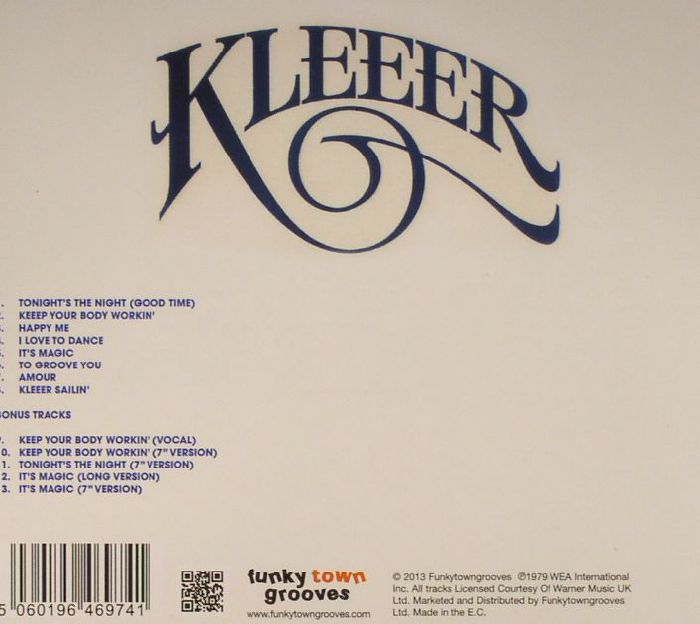 KLEEER - I Love To Dance (Expanded Edition)