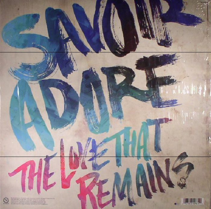 SAVOIR ADORE - The Love That Remains