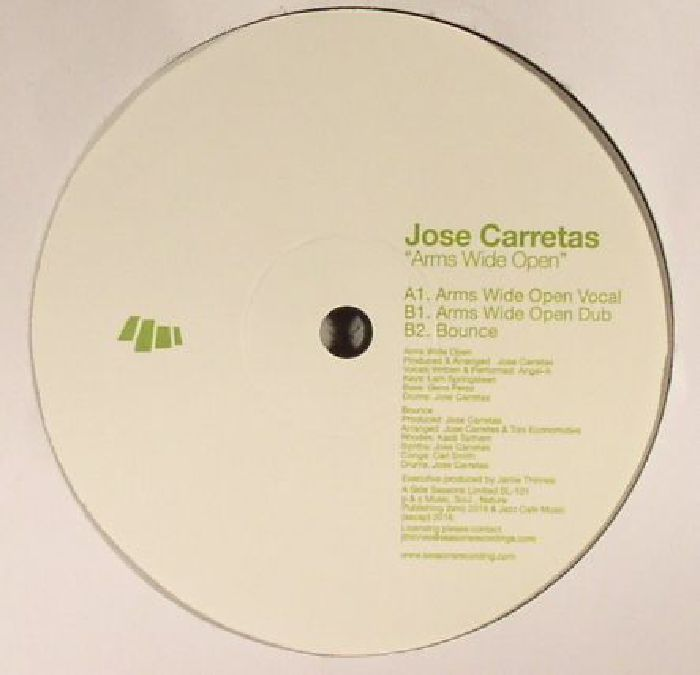 CARRETAS, Jose feat ANGEL A - Arms Wide Open