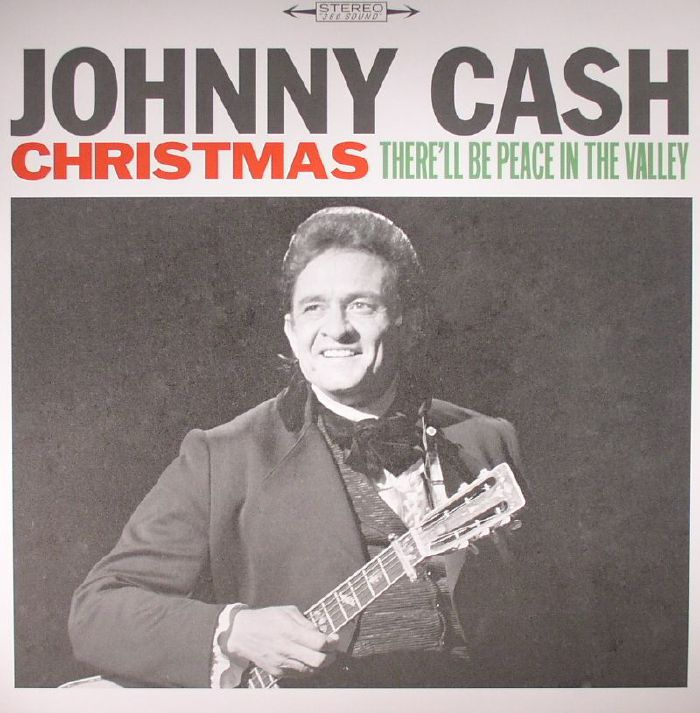 Johnny CASH Christmas: There ll Be Peace In The Valley vinyl at ...