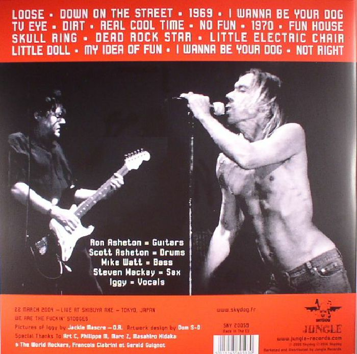 IGGY & THE STOOGES - Telluric Chaos (reissue)