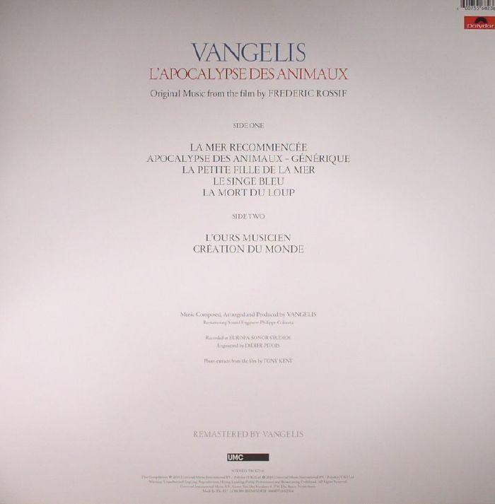 VANGELIS - L'Apocalypse Des Animaux (Soundtrack)