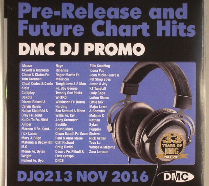 VARIOUS - DJ Promo November 2016: Pre Release & Future Chart Hits (Strictly DJ Use Only)