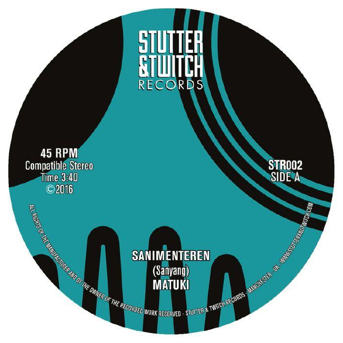 MATUKI Stutter & Twitch vinyl at Juno Records