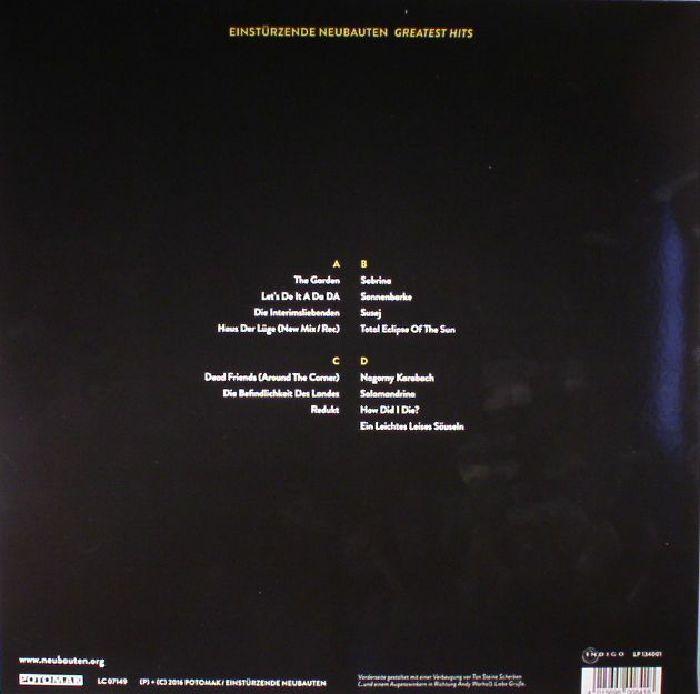 EINSTURZENDE NEUBAUTEN - Greatest Hits (Deluxe Edition)