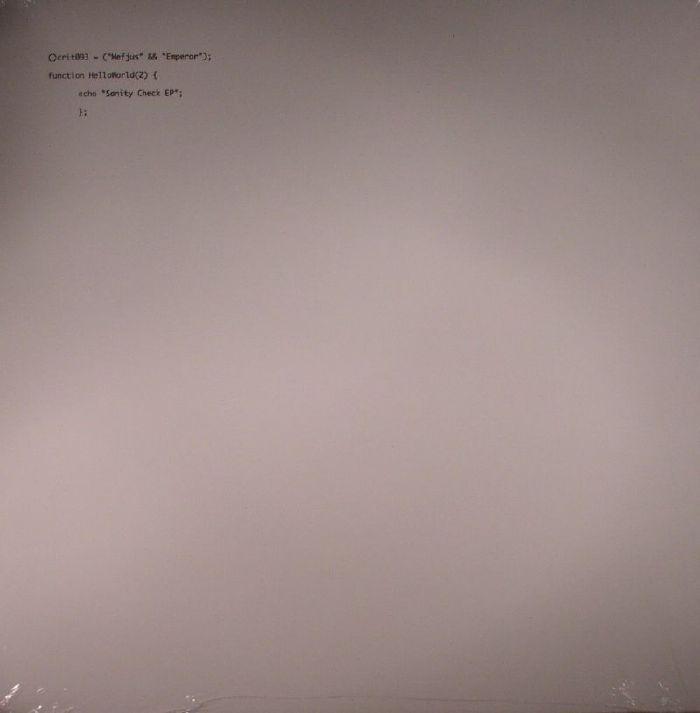 MEFJUS/EMPEROR - Sanity Check EP