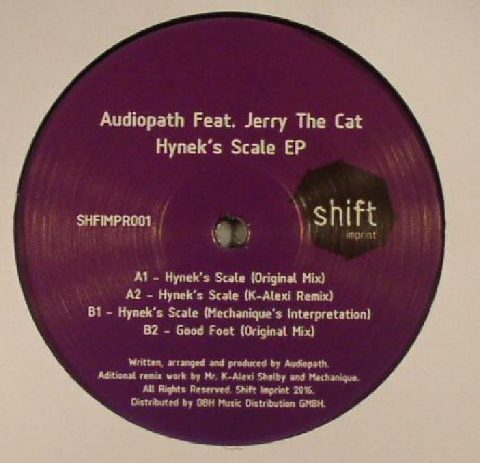 AUDIOPATH feat JERRY THE CAT - Hynek's Scale EP