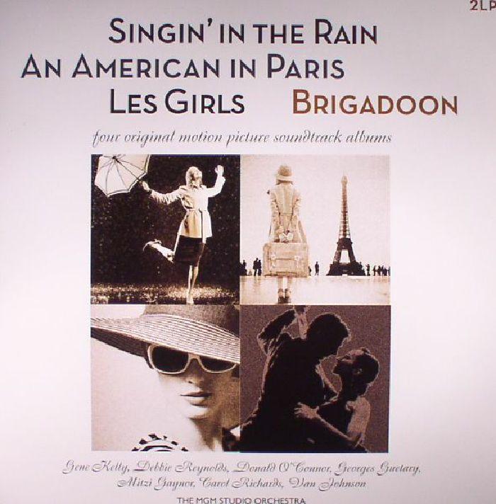 VARIOUS - Singin' In The Rain/Les Girls/An American In Paris/Brigadoon (Soundtrack) (reissue)