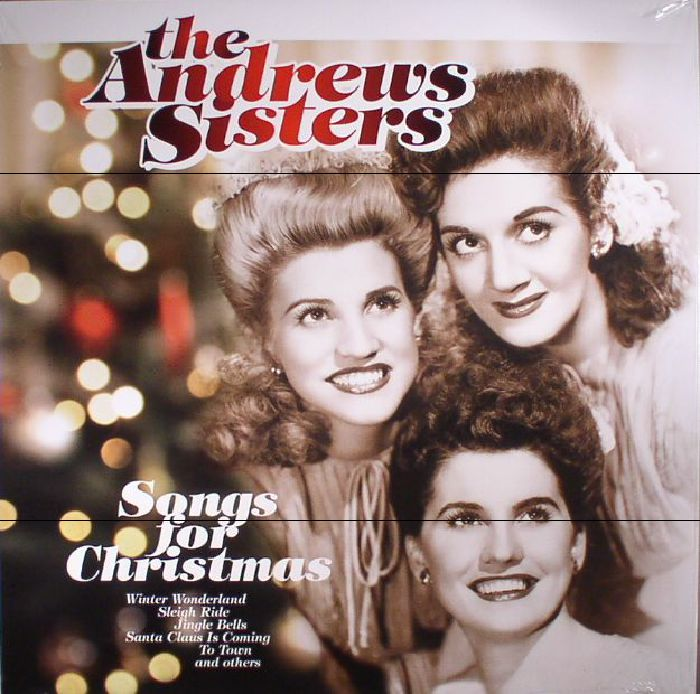 the andrew sisters songs for christmas reissue vinyl at juno records