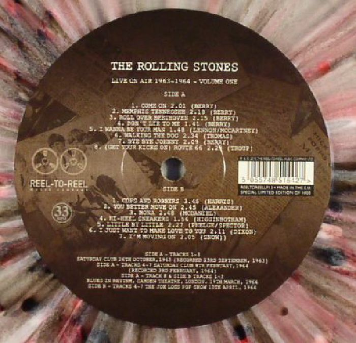 The Rolling Stones Live On Air 1963 1964 Volume 1 Vinyl