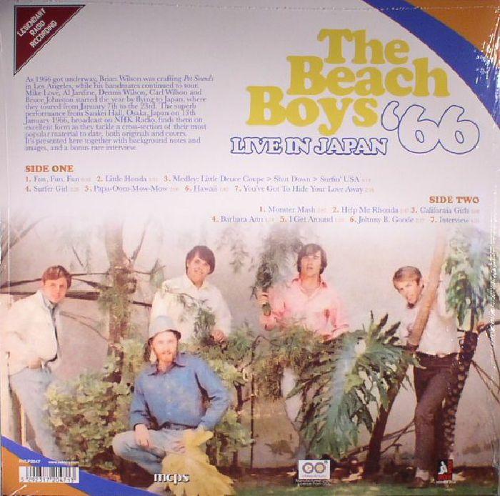 BEACH BOYS, The - Live In Japan '66