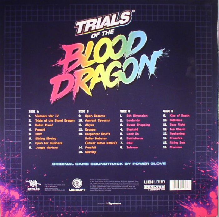 POWER GLOVE - Trials Of The Blood Dragon (Soundtrack)