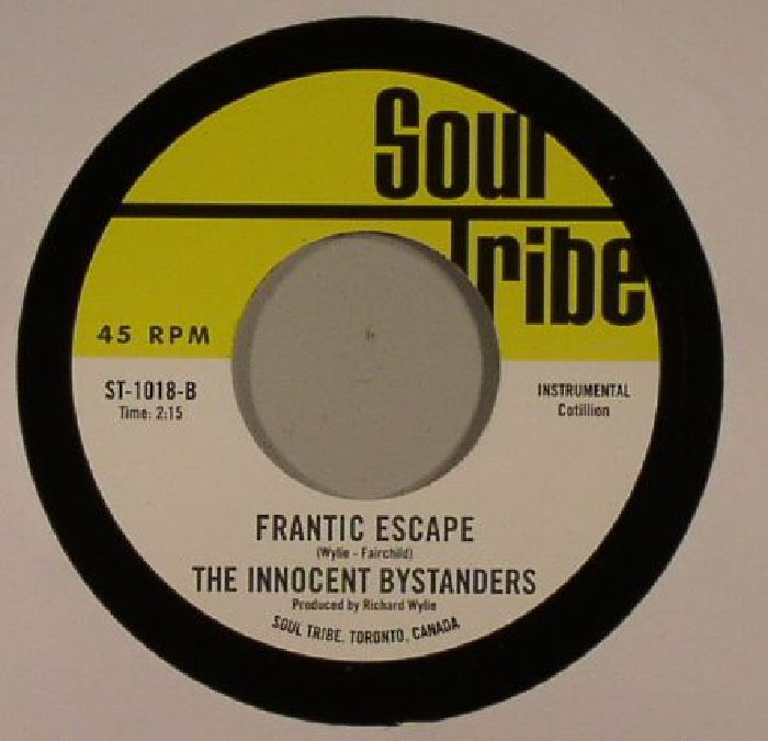 COASTERS, The/THE INNOCENT BYSTANDERS - Crazy Baby/Frantic Escape
