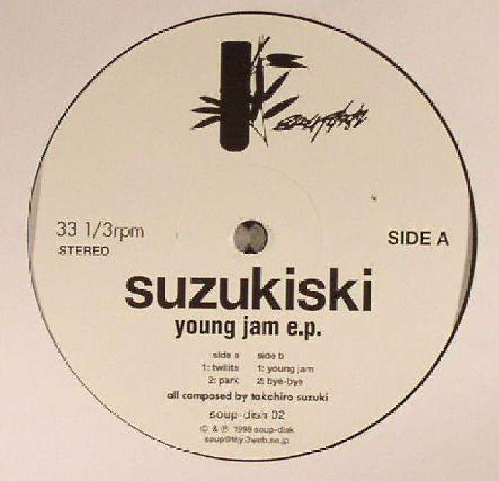 SUZUKISKI - Young Jam EP (reissue)