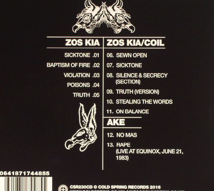 ZOS KIA/COIL - Transparent