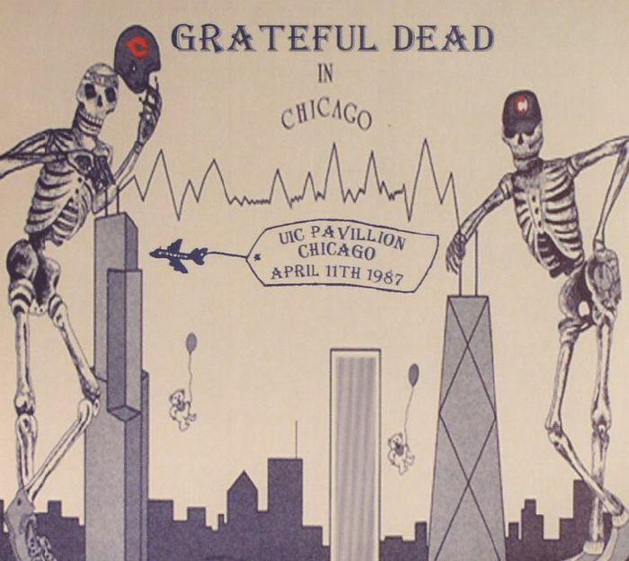 GRATEFUL DEAD - UIC Pavilion Chicago April 11th 1987
