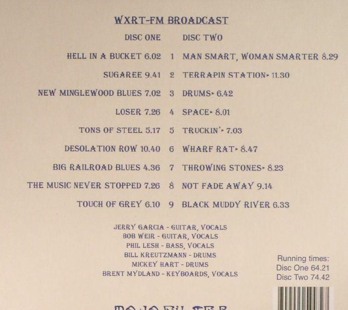 Grateful Dead Uic Pavilion Chicago April 11th 1987 Vinyl