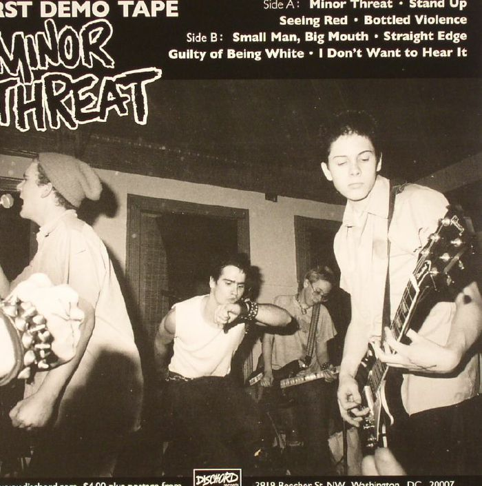 MINOR THREAT - First Demo Tape (remastered)