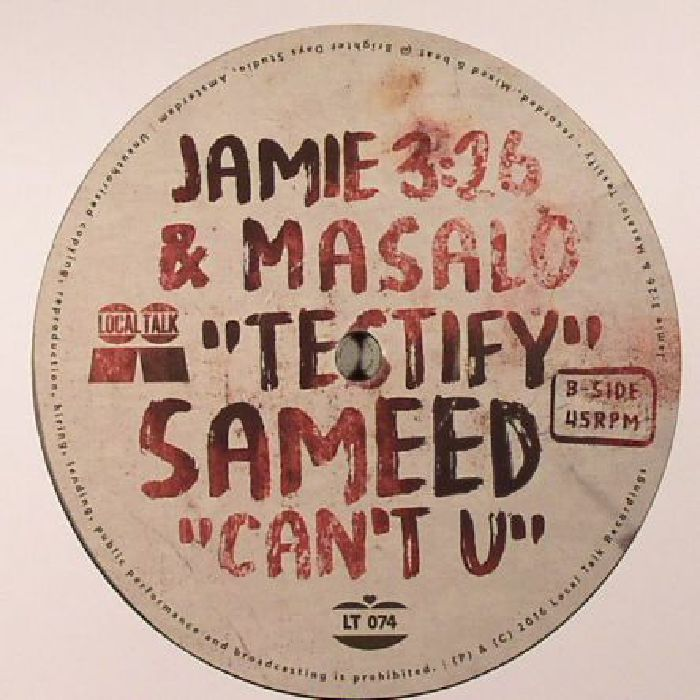 JAMIE 326/MASALO/SAMEED - Testify