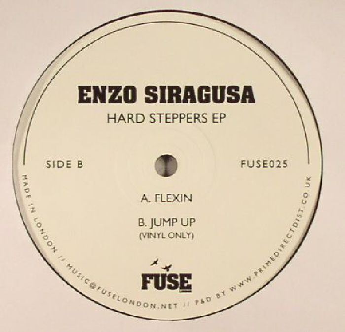 SIRAGUSA, Enzo - Hard Steppers EP