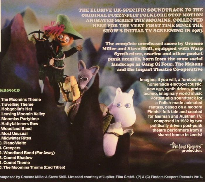 MILLER, Graeme/STEVE SHILL - The Moomins (Soundtrack)
