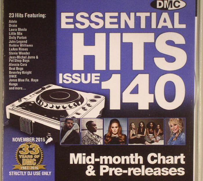 VARIOUS - DMC Essential Hits 140 (Strictly DJ Only)
