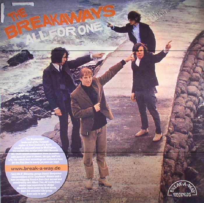 BREAKAWAYS, The - All Of One (reissue)