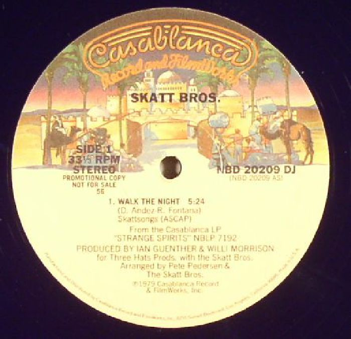 SKATT BROS - Walk The Night