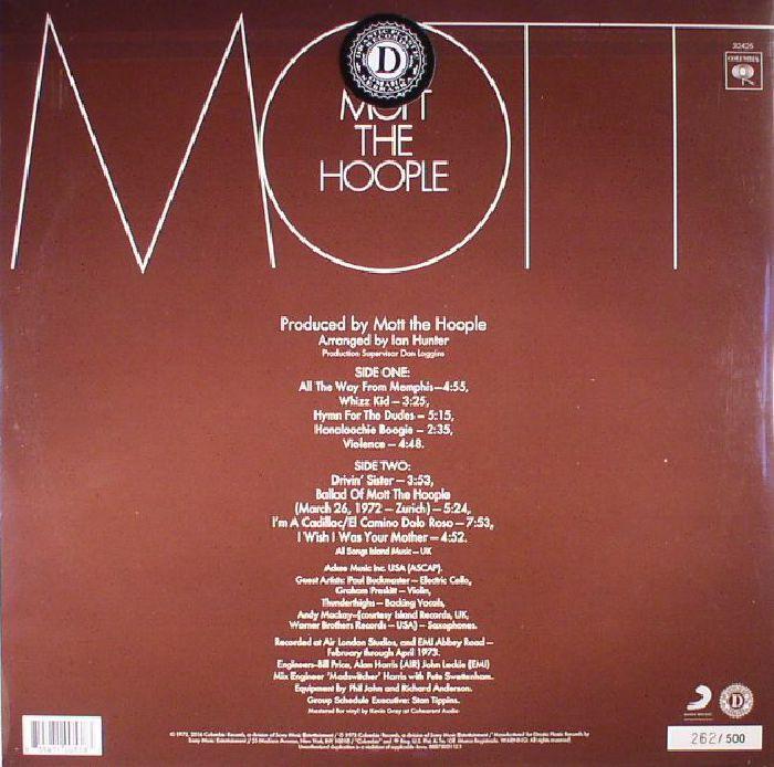 MOTT THE HOOPLE - Mott (reissue)