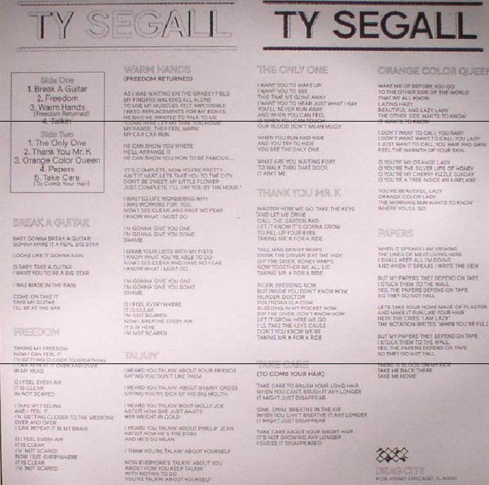 SEGALL, Ty - Ty Segall